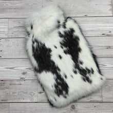 Luxury Rabbit Fur Hot Water Bottle - Large - #163