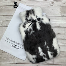 Rabbit Fur Hot Water Bottle - Large - #162/1
