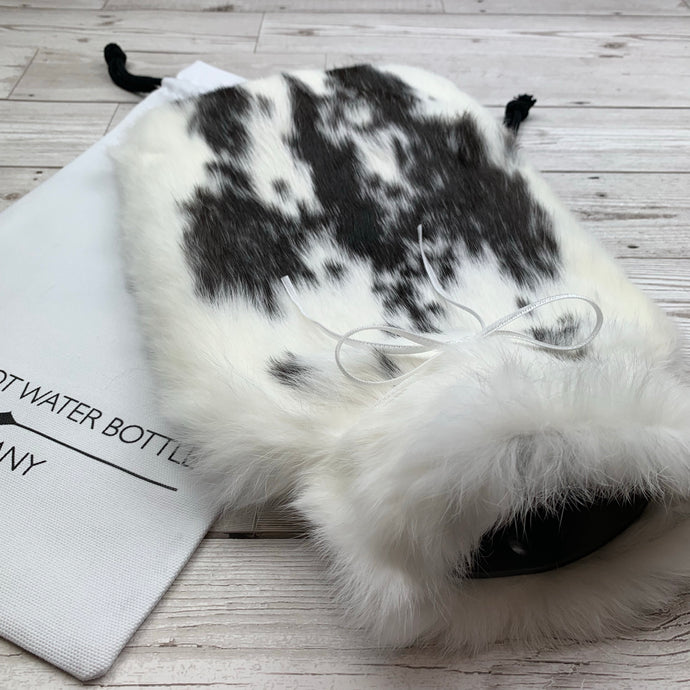Luxury Rabbit Fur Hot Water Bottle - Large - #202/1