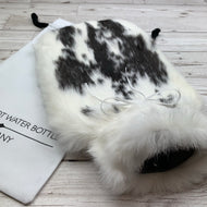 Luxury Rabbit Fur Hot Water Bottle - Large - #202