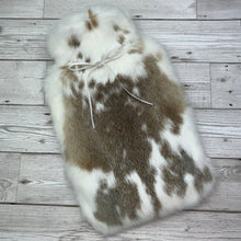 Luxury Rabbit Fur Hot Water Bottle - Large - #181/1