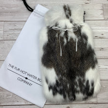 Luxury Rabbit Fur Hot Water Bottle - Large - #217/1