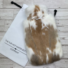 Rabbit Fur Luxury Hot Water Bottle - Large - #234/1