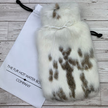 Luxury Rabbit Fur Hot Water Bottle - Large - #213/1