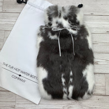 Rabbit Fur Luxury Hot Water Bottle - Large - #186 - Premium