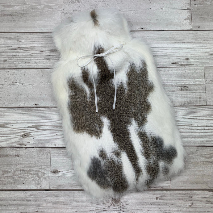 Luxury Real Fur Hot Water Bottle - Large - #193/1
