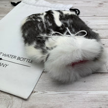 Luxury Real Fur Hot Water Bottle - Small - #190/3