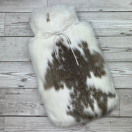 Luxury Rabbit Fur Hot Water Bottle - Large - #200