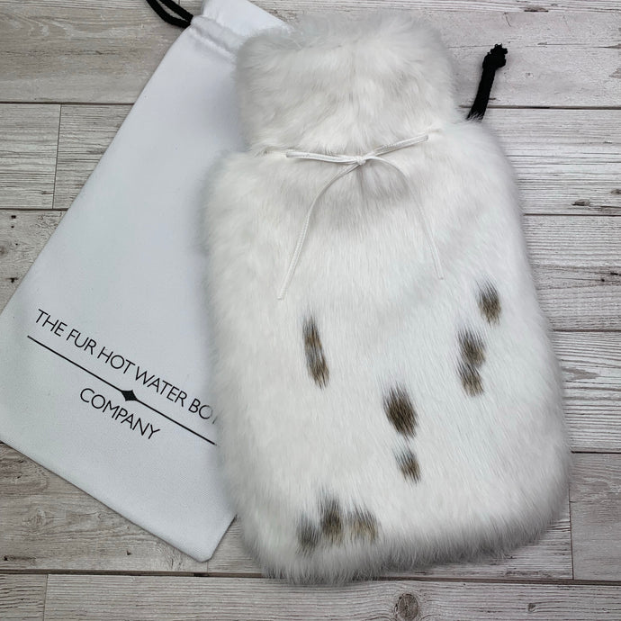 Luxury Fur Hot Water Bottle - Large - #218/1