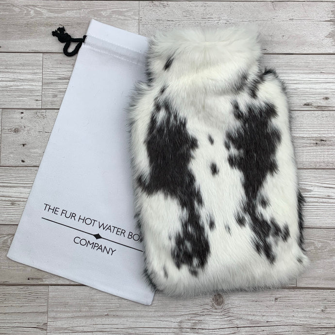 Luxury Rabbit Fur Hot Water Bottle - Large - #163/1
