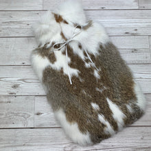 Real Fur Hot Water Bottle - Large - #198/3