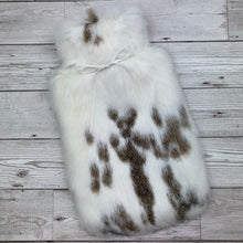 Luxury Rabbit Fur Hot Water Bottle - Large - #213/3