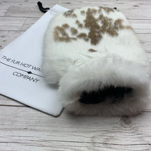 Luxury Rabbit Fur Hot Water Bottle - Large - #219/2