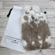 Rabbit Fur Hot Water Bottle - Large - #192/3