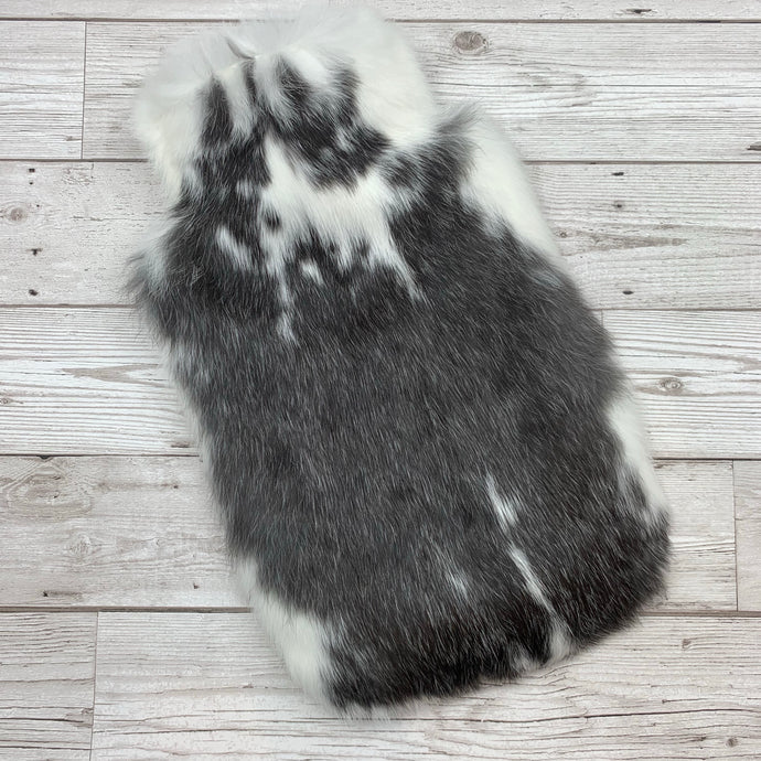 Luxury Hot Water Bottle - Real Fur - Large - #238/1