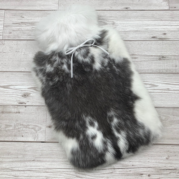 Real Fur Hot Water Bottle Large - #159 - Large/1