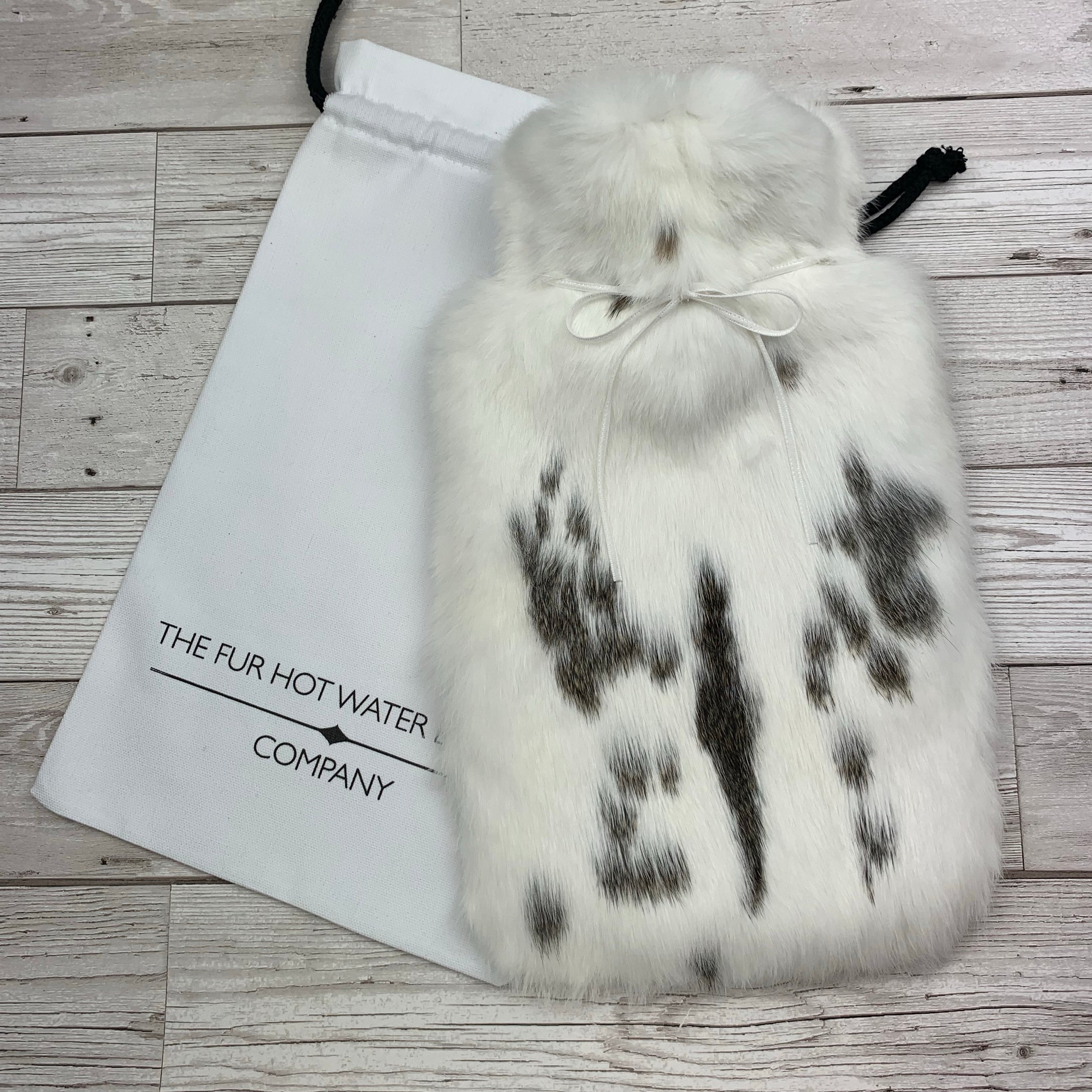 Real Fur Hot Water Bottle - Large - #196/1