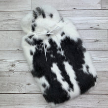 Rabbit Fur Hot Water Bottle - Large - #208/1
