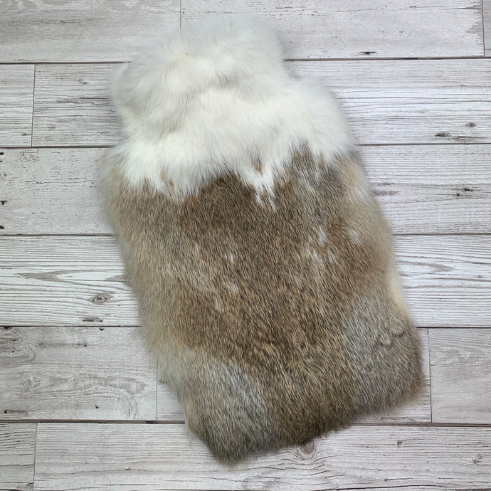 Luxury Rabbit Fur Hot Water Bottle - Large - #239/1