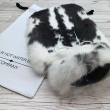 Rabbit Fur Hot Water Bottle - Large - #208/2