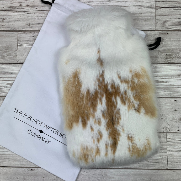 New for 2020 - Luxury Rabbit Fur Hot Water Bottle - Large - #262 - Premium