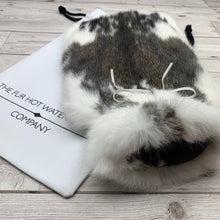 Luxury Rabbit Fur Hot Water Bottle - Large - #217/2