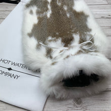 Luxury Real Fur Hot Water Bottle - Large - #230/2