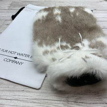 Rabbit Fur Hot Water Bottle - Large - #192/2