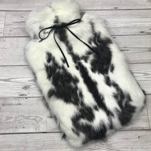 Real Rabbit Fur Hot Water Bottle #135 image 1