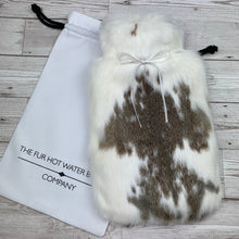 Luxury Rabbit Fur Hot Water Bottle - Large - #200/3