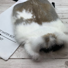 Deluxe Rabbit Fur Hot Water Bottle - 242/2