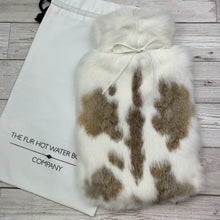Luxury Rabbit Fur Hot Water Bottle - Large - #185/3