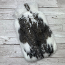 Luxury Rabbit Fur Hot Water Bottle - Large - #217/3
