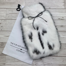 Rabbit Fur Luxury Hot Water Bottle - Large - #176/1