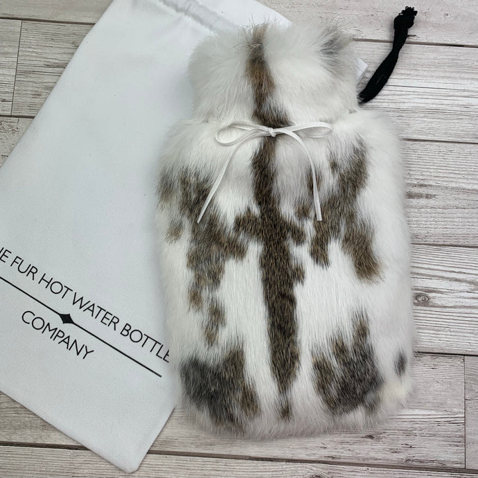 Luxury Fur Hot Water Bottle - Small - #228/1