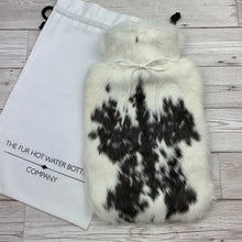 Luxury Rabbit Fur Hot Water Bottle - Large - #182/1