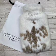 Luxury Rabbit Fur Hot Water Bottle - Large - #219/3