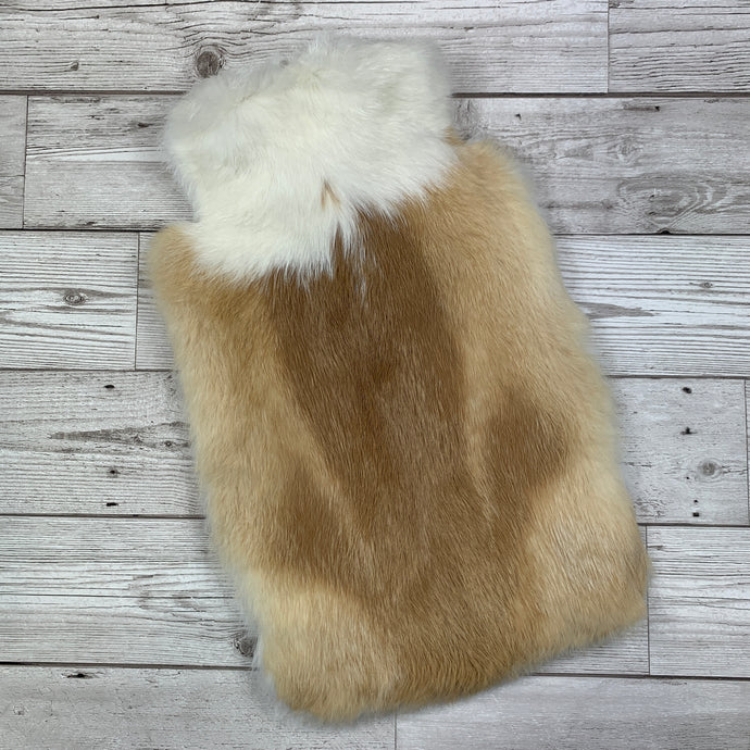 New for 2020 - Luxury Rabbit Fur Hot Water Bottle - Large #257 - Premium