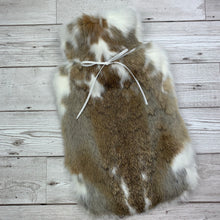 Luxury Rabbit Fur Hot Water Bottle - Large - #199/1