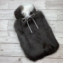 Luxury Rabbit Fur Hot Water Bottle - Large #177 - Premium/3