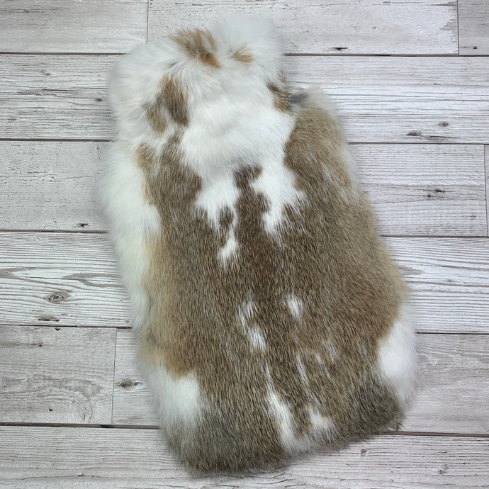Luxury Rabbit Fur Hot Water Bottle - Large - #241/1