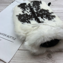 Luxury Rabbit Fur Hot Water Bottle - Large - #182/2