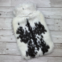 Luxury Rabbit Fur Hot Water Bottle - Large - #182/3