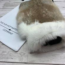 Luxury Rabbit Fur Hot Water Bottle - Large - #239/2