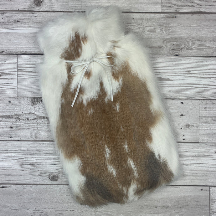 Luxury Rabbit Fur Hot Water Bottle - Large - #270 - Premium