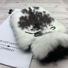 Luxury Rabbit Fur Hot Water Bottle - Large - #169/2