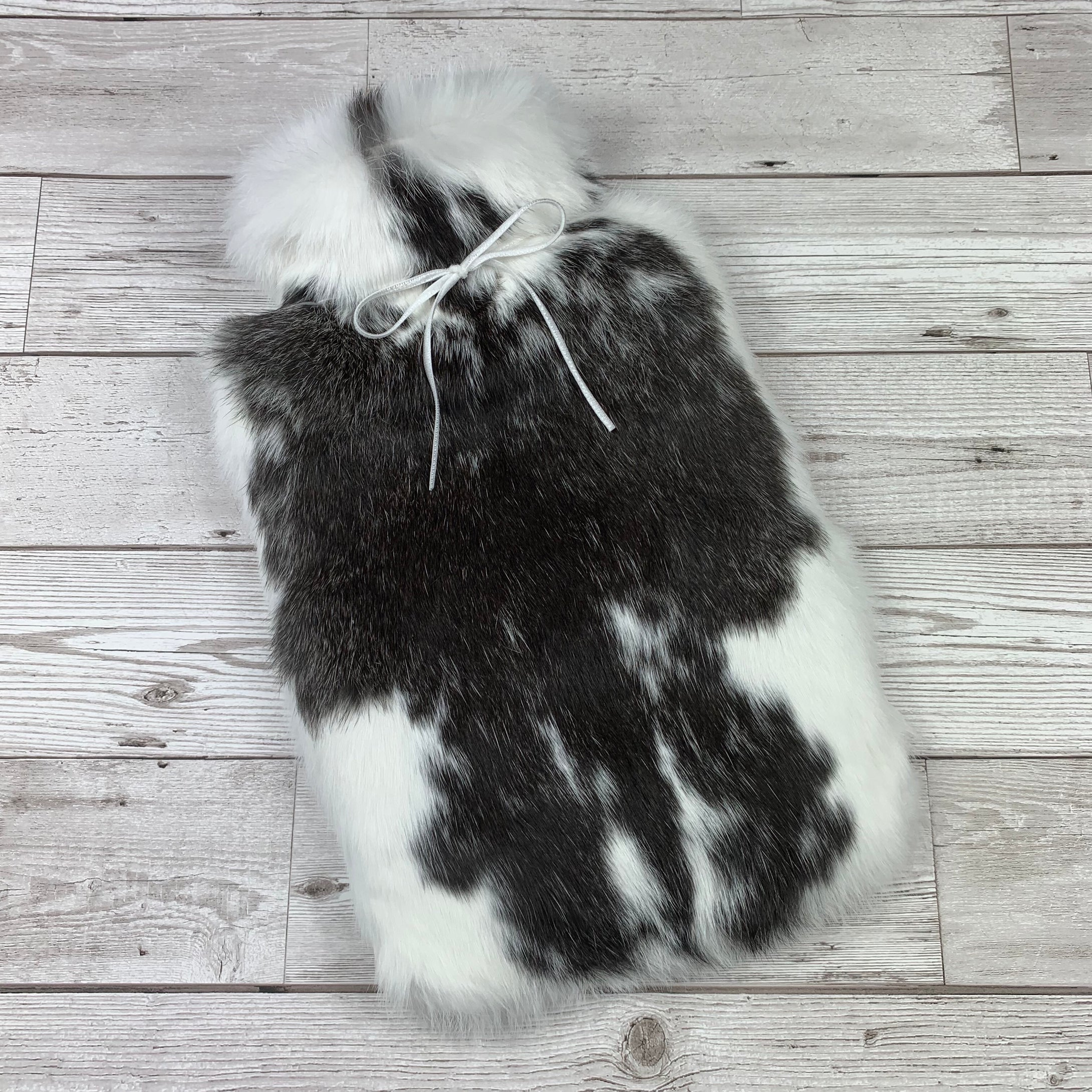 Rabbit Fur Hot Water Bottle - #131 - Photo 1