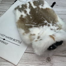 Luxury Rabbit Fur Hot Water Bottle - Large - #181/2