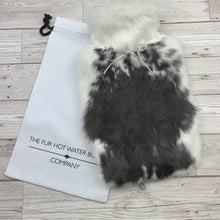 Photo of a rabbit fur hot water bottle 156-2