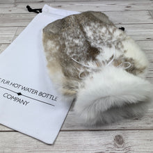 Rabbit Fur Luxury Hot Water Bottle - #138 - photo 4